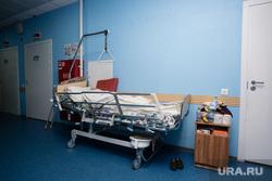 Клипарт.  Сургут, больничный коридор, медицина, больница, больничная койка