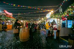 Новогодняя ярмарка на Красной Площади. Москва, зима, красная площадь, новый год, новогодняя ярмарка