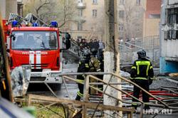 Последствия взрыва кислородной станции в госпитале на базе ГКБ№2. Челябинск, мчс, пожарные