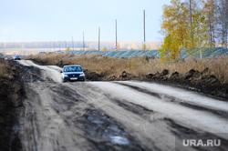 Строительство дороги. Ключи. Челябинск., грунтовка