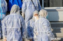 Последствия взрыва кислородной станции в госпитале на базе ГКБ№2. Челябинск, врачи, медики, доктор, сиз, противочумной костюм