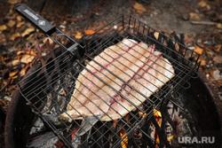 Кухня КМНС. Сургут, гриль, рыба жаренная