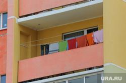 Разное. Челябинск., дом, балкон, новостройка, белье