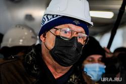 Поездка Алексея Текслера на строительство инфекционной больницы. Челябинск, вербитский михаил