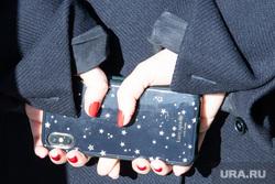 Визит Ольги Любимовой. Екатеринбург, маникюр, смартфон, сотовый телефон, мобильник, мобильный телефон