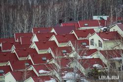 Фестиваль воздухоплавания «Самрау». Башкортостан, лес, недвижимость, коттеджи, вид сверху