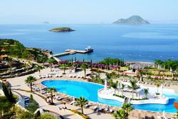 Клипарт depositphotos.com, море, бассейн, турция, достопримечательности турции, бодрум, пляж турция