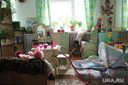 Визит врио губернатора Шумкова Вадима в Каргапольский район. Курган, детский сад, детская комната, ясли сад, группа в детском саду