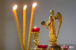 Ночное пасхальное богослужение в Кафедральном соборе. Магнитогорск, свечи, ангел, церковь
