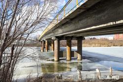 Река Тобол. Разное. Курган, половодье, кировский мост, река тобол, наводнение, лед, река тобол весной