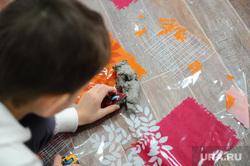Искорка. Движение помощи онкобольным детям. Челябинск., ребенок, занятие по глинотерапии