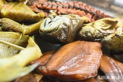 Виды Красноярска, продукты, копченая рыба, рыба, еда, рыбный магазин