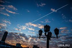 Утро в Екатеринбурге. Рассветное небо и метро, утро, рассвет екатеринбург, рассветное небо