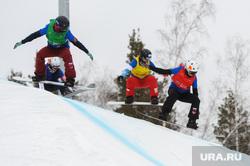 Этап Кубка Европы по сноуборду в дисциплине «борд-кросс». Миасс. Челябинская область, спорт, сноуборд