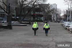 Город во время нерабочих дней, объявленных в связи с карантином по коронавирусу, пятый день. Пермь , улица ленина пермь