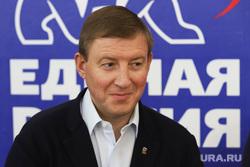 Секретарь генсовета «Единой России» Андрей Турчак на форуме партии