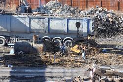 Завод КМЗ. Курган, железо, свалка, курганмашзавод, чермет, лом металла