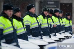 Вручение свердловским полицейским ключей от новых автомобилей. Екатеринбург , полиция, гибдд, дпс