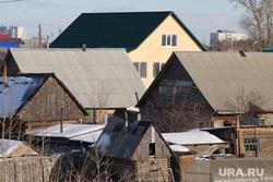Галкинский мост. Курган, деревня, дачи, крыши, частный сектор, крыши домов