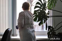 Депутат областной думы Александр Ильтяков в центре переливания крови. Курган , медсестра, кабинет врача, врач, медицина, медик