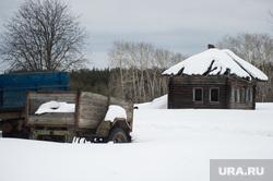 Доставка товаров первой необходимости, продуктов питания и почты в труднодоступные районы Свердловской области , заброшенный дом, деревня, труднодоступный регион, деревенская жизнь