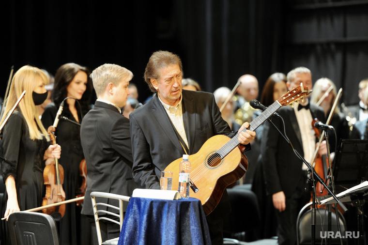 Текслер на концерте Митяева. Челябинск