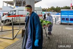 Последствия взрыва кислородной станции в госпитале на базе ГКБ№2. Челябинск, врачи, скорая помощь, эвакуация больных, медики, доктор, коронавирус, covid, ковид