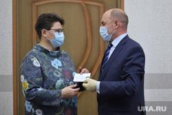 Вручение депутатского мандата Воронович Елене. Курган