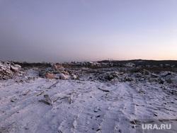 Граница несанкционированной свалки и скотомогильник с Сибирской язвой (НЕОБРАБОТАННЫЕ). Свердловская область, поселок Рудный