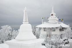 Буддийский монастырь Шедруб Линг. Качканар, буддизм, ступа, шедруб линг