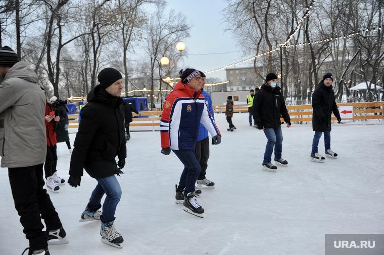 Каток. Челябинск