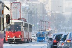 Морозы в Екатеринбурге, пробка, общественный транспорт, проспект ленина, трамвай, транспортная реформа