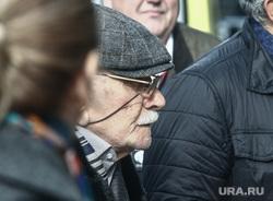 Прибытие гостей на церемонию прощания с режиссером Театра «Ленком» Марком Захаровым. Москва, джигарханян армен