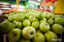 Открытие супермаркета «Перекресток». Екатеринбург, продуктовый магазин, фрукты, яблоки