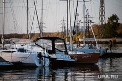 Последний заплыв в сезоне сапсерферов из Ural Surf. Екатеринбург, катер, коматек, яхты, визовский пруд, яхт-клуб, виды екатеринбурга, лодка