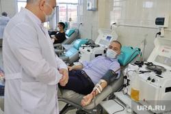 Депутат областной думы Александр Ильтяков в центре переливания крови. Курган , ильтяков александр