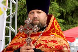 Православная ярмарка Курган, отец владимир дедов