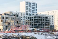 Спальные районы и жители города. Тюмень., снег, зима, строительство, снег в городе, стройка