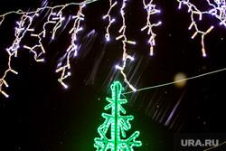 Новогодняя иллюминация. Тюмень, новогодние украшения, гирлянда, гирлянды, новый год, новогоднее оформление, новогоднее настроение