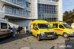 Последствия взрыва кислородной станции в госпитале на базе ГКБ№2. Челябинск, реанимобиль, медицина катастроф, врачи, скорая помощь, медики, доктор