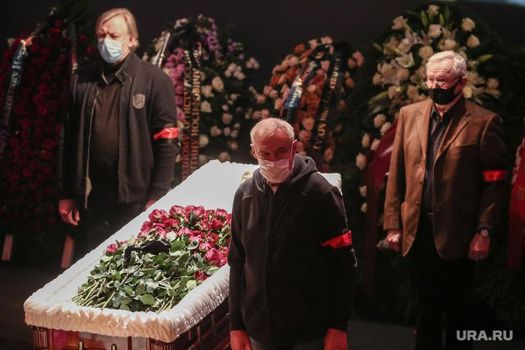 Прощание с Валентином Гафтом. Москва