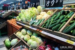 Овощные и фруктовые лотки в супермаркете Магнит. Челябинск, овощи, продукты, супермаркет магнит, магазин