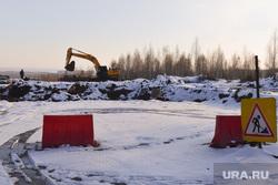 Коттеджные поселки. Строительство жилья. Челябинск., ремонт дороги