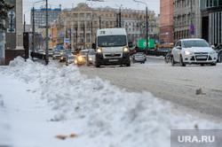 Снегопад. Челябинск, сугроб, снег, зима, проспект ленина, маршрутка, снегопад