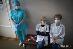 Вакцинация от COVID-19. Магнитогорск, ожидание, вакцинация, медики, социальная дистанция