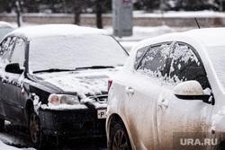 Виды Екатеринбурга, снег, зима, автомобиль, грязь, машина в снегу