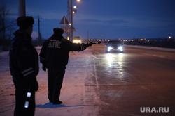 Клипарт. ЯНАО, проезжая часть, рейд, ночная трасса, гибдд, дпс, проверка на дорогах