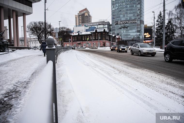 Уборка улиц в Екатеринбурге