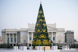 Главная елка. Тюмень, зима, театр, новогодняя елка, тюменский драматический театр, тбдт