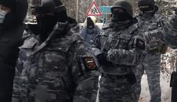 Спецназ судебных приставов (ФССП) в Среднеуральском женском монастыре отца Сергия